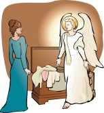 angel visit mary